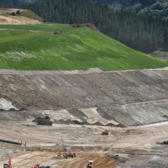 Re-Vegetation of Earthworks